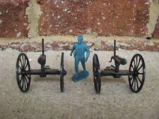 BMC Gatling Guns 2 Pack Set Western 1/32 54MM Toy Soldier Civil War