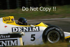Jacques Laffite Williams FW09 F1 Season 1984 Photograph 2