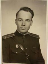 1953 PHOTO very handsome Military Man Red Army SOLDIER