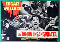 T14 Fotobusta Die Grab Blutig Edgar Wallace Klaus Kinski Gottlieb 3