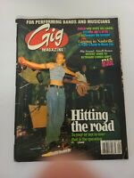 Gig Music Musician Magazine Vintage Issue Vol 1 No. 4 Sept 1997