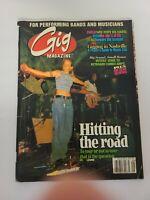 Gig Music Musician Magazine Vintage Issue Vol 1 No. 4 Sept 1997