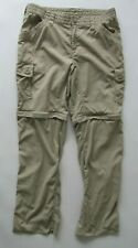 The North Face Women's Outdoor Cargo Nylon Pants in Tan Size 10