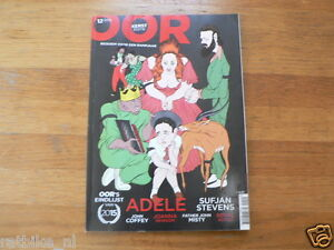 OOR MUSIC MAGAZINE 2015-12 ADELE,JOHN COFFEY, JOANNA NEWSON,SUFJAN STEVENS,BLOOD