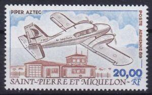 St. Pierre & Miquelon  573 **, Flugzeuge - Piper PA-23 Aztec (8 ME)