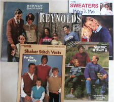 A collection of knit designs for adults & children
