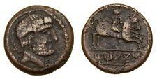 IBERIA Titiakos Circa 150-100 B.C. Æ Unit (23 mm, 9.50 gm., 1h) VF  5217