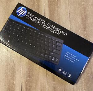 HP Slim Bluetooth Keyboard NEW Factory Sealed Hewlett-Packard H4Q44AA