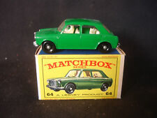 Matchbox 64  M.G. 1100 Diecast Car With Original Box Intact