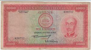 Portugal 1000 Escudos von 30. April 1964 gebraucht  65834