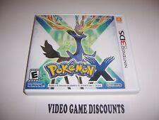 Original Box Case for Nintendo 3DS Pokemon X *NO GAME*