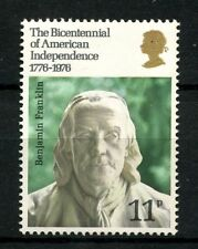 GB 1976 SG#1005 Bicentenary Of American Revolution MNH #A50910