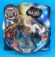 2002 Jakks Pacific WWE Ringside Rivals Jeff Hardy Vs Eddie Guerrero New Sealed