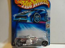 2004 Hot Wheels #180 Grey Screamin Hauler w/PR5 Wheels