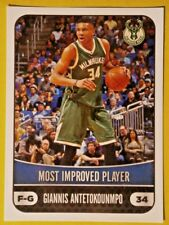 G.ANTETOKOUMMPO #371 ( MIP ) PANINI  NBA 17/18   EUROPEAN EDITION STICKER