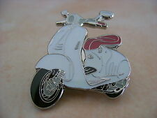 Piaggio Vespa 946 White Hat Pin Lapel Pin