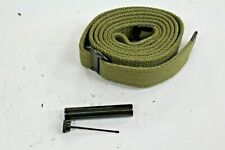 New .30 M1 Carbine Od Khaki Sling With Oiler Y39