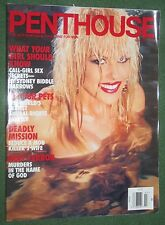 Penthouse March 1996 POM Diane Leslie Glass Call Girl Sex Secrets Deadly Mission