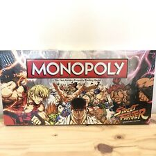 MONOPOLY STREET FIGHTER Collector's Edition 2012 New