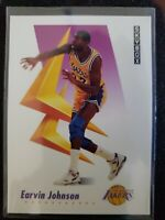 "1991-92  EARVIN ""MAGIC"" JOHNSON SKYBOX Basketball Card #137 - LOS ANGELES LAKERS"