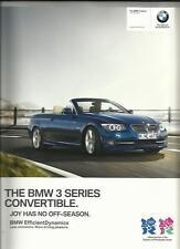+ + RIDUZIONE + + BMW SERIE 3 AUTO CONVERTIBILE opuscolo 2012