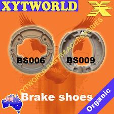 FRONT REAR Brake Shoes for Yamaha AG 100 J E Farm Bike 1982-1993