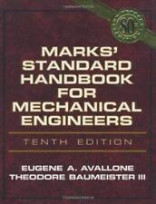 Marks' Standard Handbook For Mechanical Engineers - by Avallone