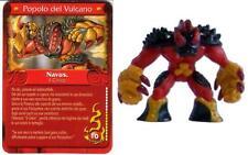 GORMITI - 3a  SERIE - NAVUS - IL CINICO - POPOLO VULCANO + CARTA ITALIANO