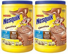 Nestle Nesquik Chocolate Flavored Powder 2.61 lb Delicious Bar Pack Of 2