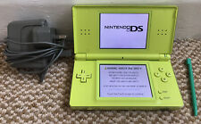 *Nintendo DS Lite* Apple Green Handheld Console with Stylus & Original Charger*