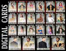 Topps SLAM WWE TALE OF THE TAPE 21 [SET 22 CARDS SIGNATURE/BASE]