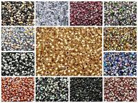 CHOOSE COLOR! 10g 3.5mm MATUBO 7/0 Seed Beads Czech Glass