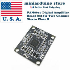 PAM8610 15Wx2 6V-15V Two Channel Stereo Class D Audio Amplifier Board Module DIY
