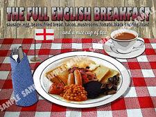 La piena inglese per colazione cena cucina: CASA ARREDAMENTO: IDEALE REGALO metallo segno