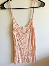 Victoria's Secret Camisole Sequined Animal Print Pink Size Large