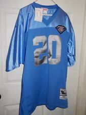 New Mitchell & Ness 1994 Barry Sanders Detroit Lions Jersey Throwback Size 52