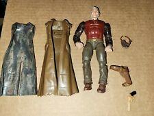 Marvel Legends custom Fodder Lot old man Logan coat mask cowboy gun belt read