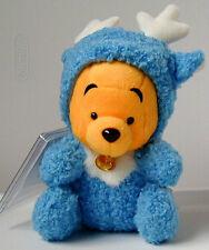 Japan Disney Store~~Blue Reindeer Pooh~~