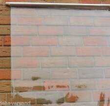 PVC Klarsichtfolie 7,30 €/m² transparente Folie Fensterfolie  0,4 mm Stark