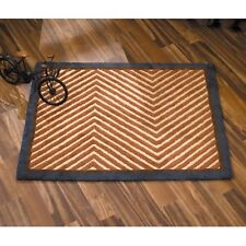 CoCaLo Couture Cooperstown Rug - Brown & Blue Rug Mat - Boy's Nursery Room Rug
