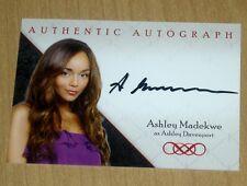 2013 Cryptozoic REVENGE ABC tv series season 1 autograph card Ashley Madekwe A2