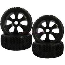 SET RC 1/8 Off-Road Buggy Car Foam Rubber Grain Tyre Tires & Wheel Rims 82B-804