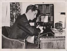 March 15th, 1939 - John F. Kennedy at Age 21 - News Photograph