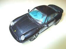 Porsche 911 (993) Turbo Coupe blau schwarz blue black metallic, Schuco in 1:43!