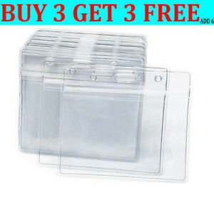 Vaccination Card Clear Protector ID Card Holder Protector BANK CARD/CREDIT CARD-