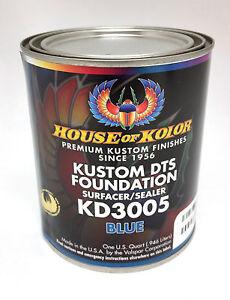 House of Kolor Dts Foundation Primer Surfacer/Sealer-Blue Quart