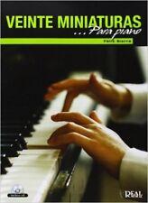 Félix Sierra: 20 Miniaturas para Piano - Sheet Music, New, Real Musical Book