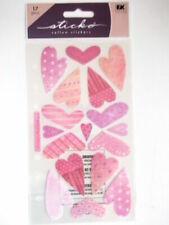 Sticko Stickers - Vellum Sweethearts Hearts Valentine