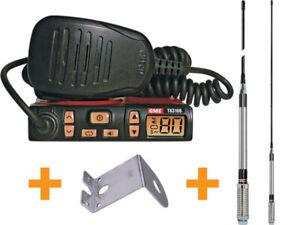 GME Super Compact Two Way UHF CB Radio 5W 80CH Starter Kit TX3100VP
