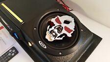 "Golf Cart UTV Overhead Stereo Radio Console with Bluetooth! 6.5"" Skull Speakers!"